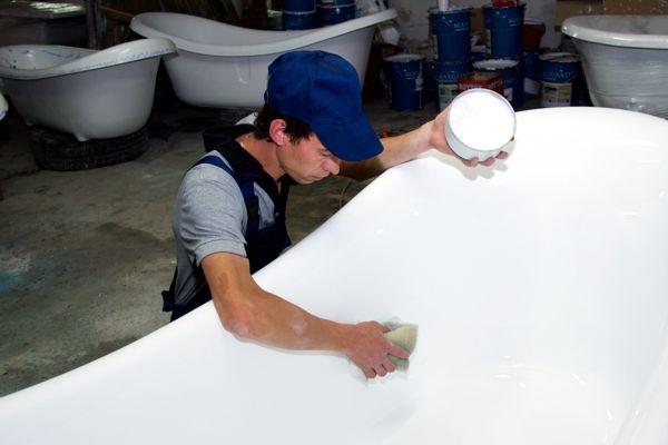Полировка ванны своими руками - советы как сделать